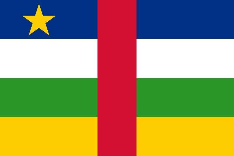 Bandeira da República Centro-Africana